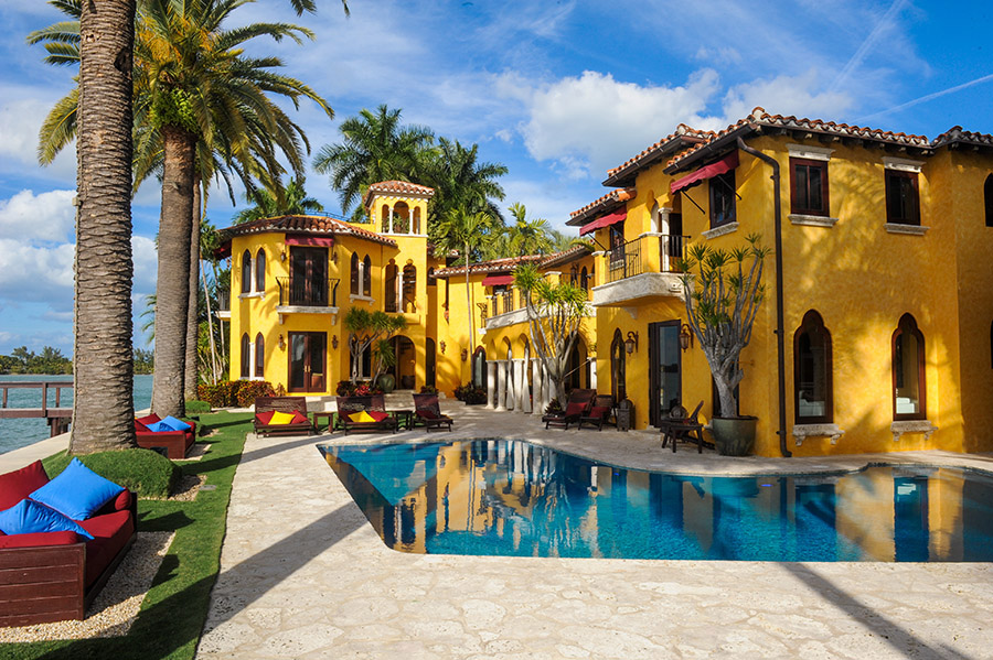 Miami Beach Waterfront Homes